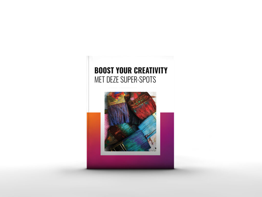 BOOST YOUR CREATIVITY cover