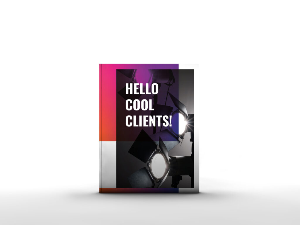 HELLO COOL CLIENTS cover